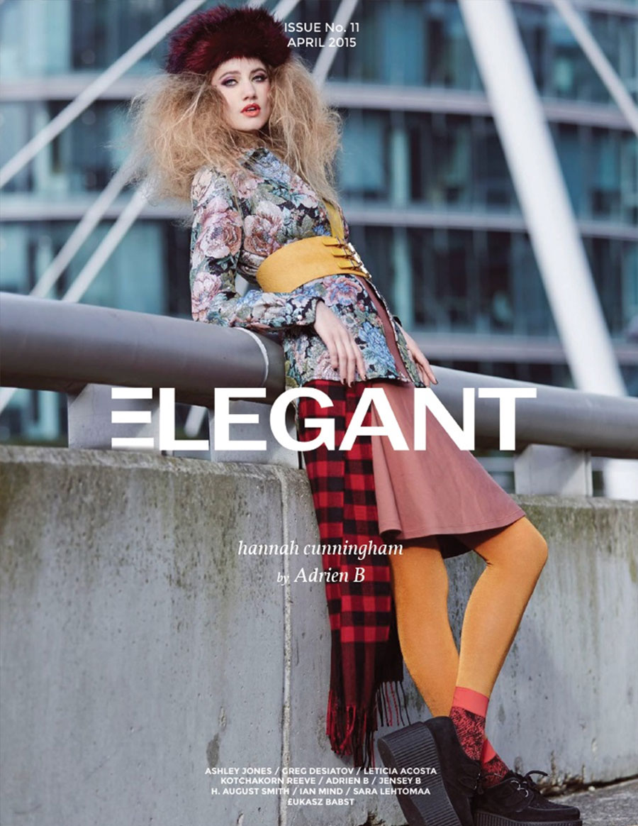 ELEGANT MAGAZINE April 2015 featuring Tomasz Kociuba
